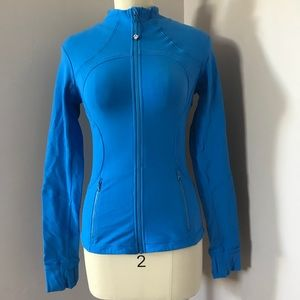 Lululemon Blue Zip Up Runners Jacket Size 4